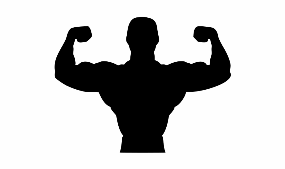 Fitness Silhouette Png.