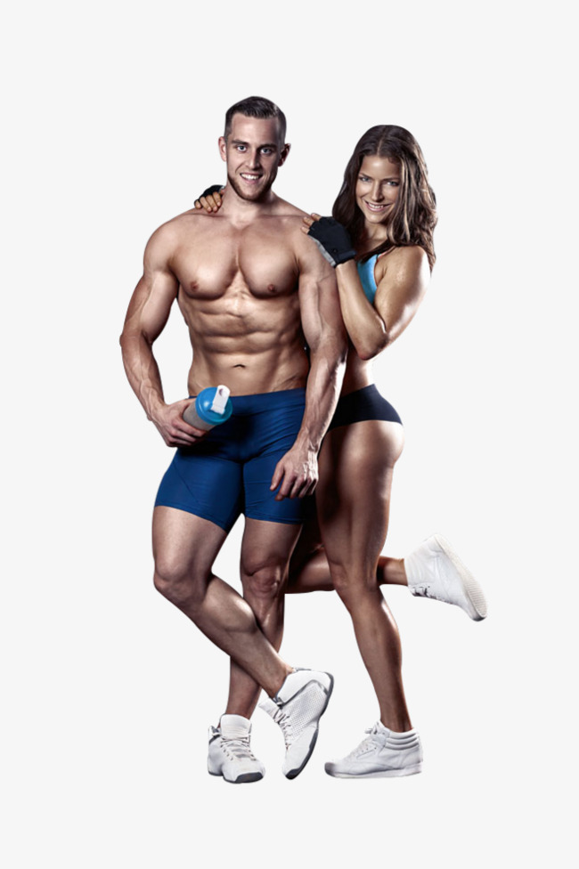 Sports Fitness Men And Women Movement Fitness The Man Png Image And.
