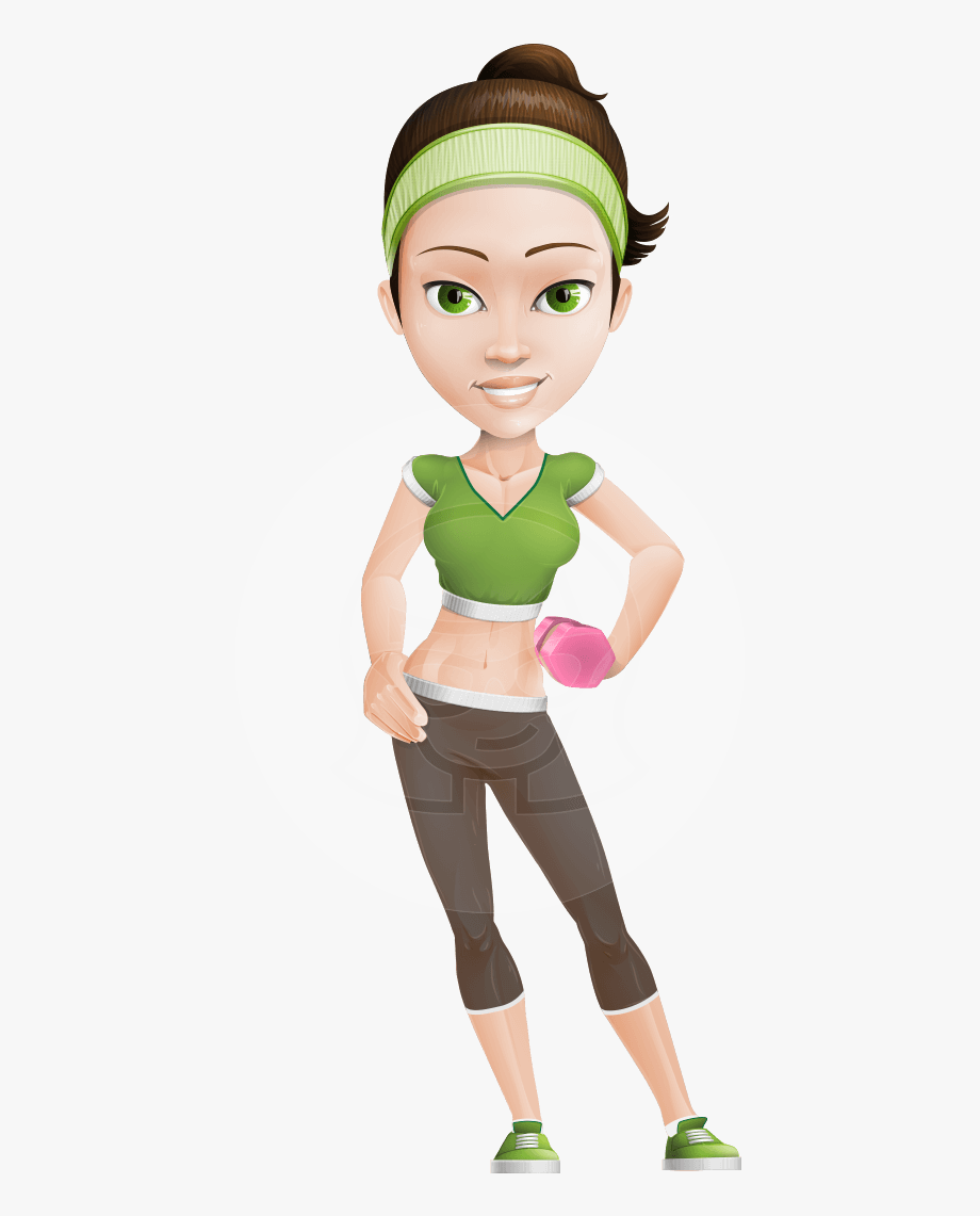 Fit Character Penny The Gym Instructor Graphicmama.