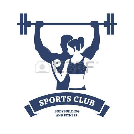 Fitness Clipart Logo.