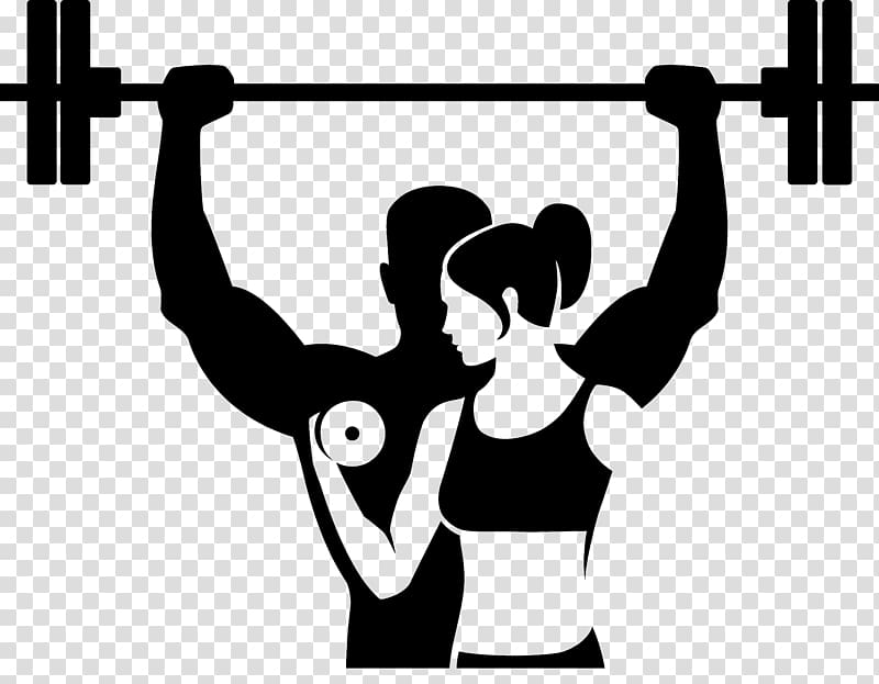 Fitness centre Physical fitness Logo, WORK OUT transparent.
