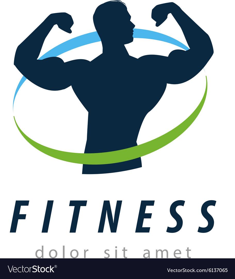 Fitness logo design template health or gym.