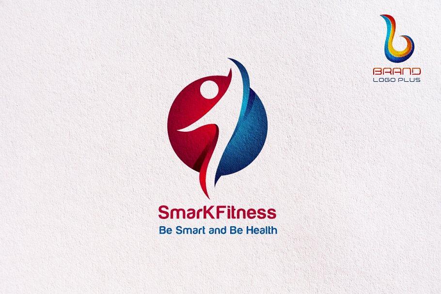 Circle Fitness Logo Design Templates.