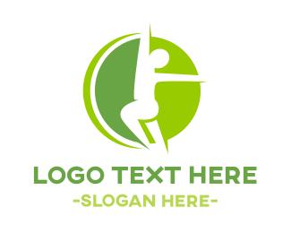 Green Fitness Logo.