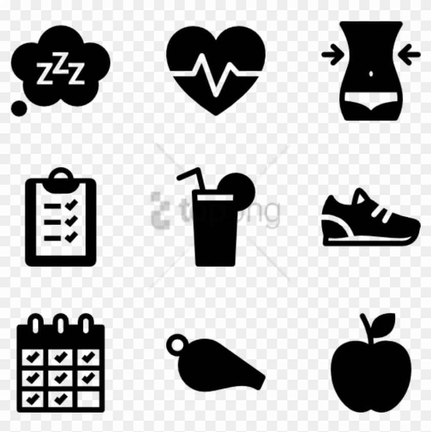 Free Png Health And Fitness Icon.