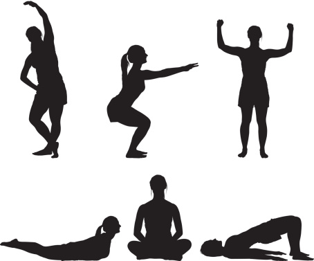 Free Exercise Silhouette Cliparts, Download Free Clip Art, Free Clip.