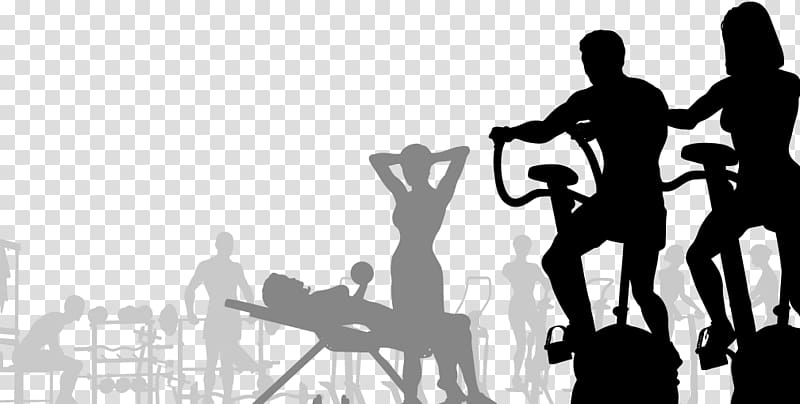 Two person exercising illustration, Fitness centre , Fitness.