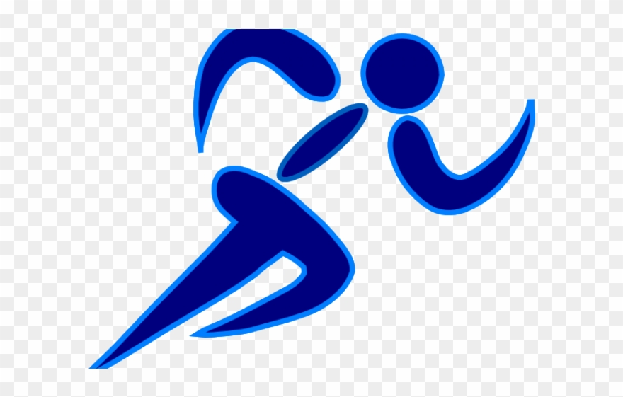 Fitness Clipart Blue.