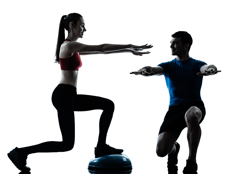 Exercising clipart fitness trainer, Picture #1028139.