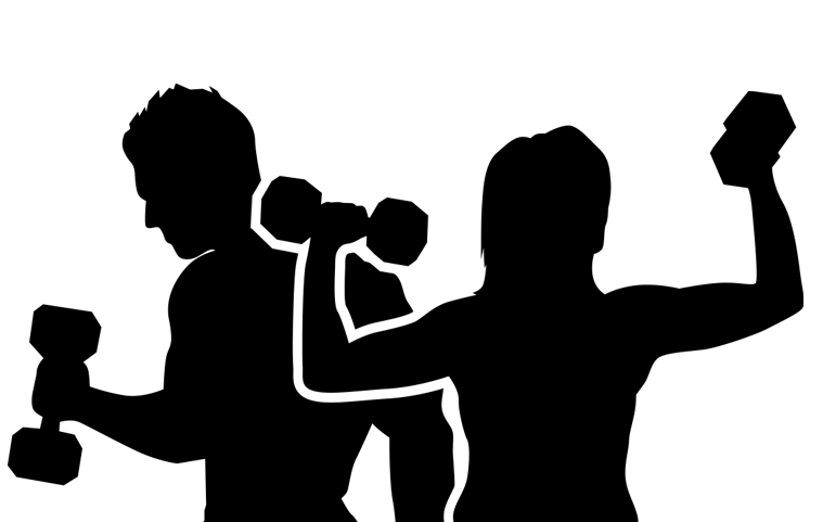 Personal trainer Exercise Clip art Physical fitness Training.