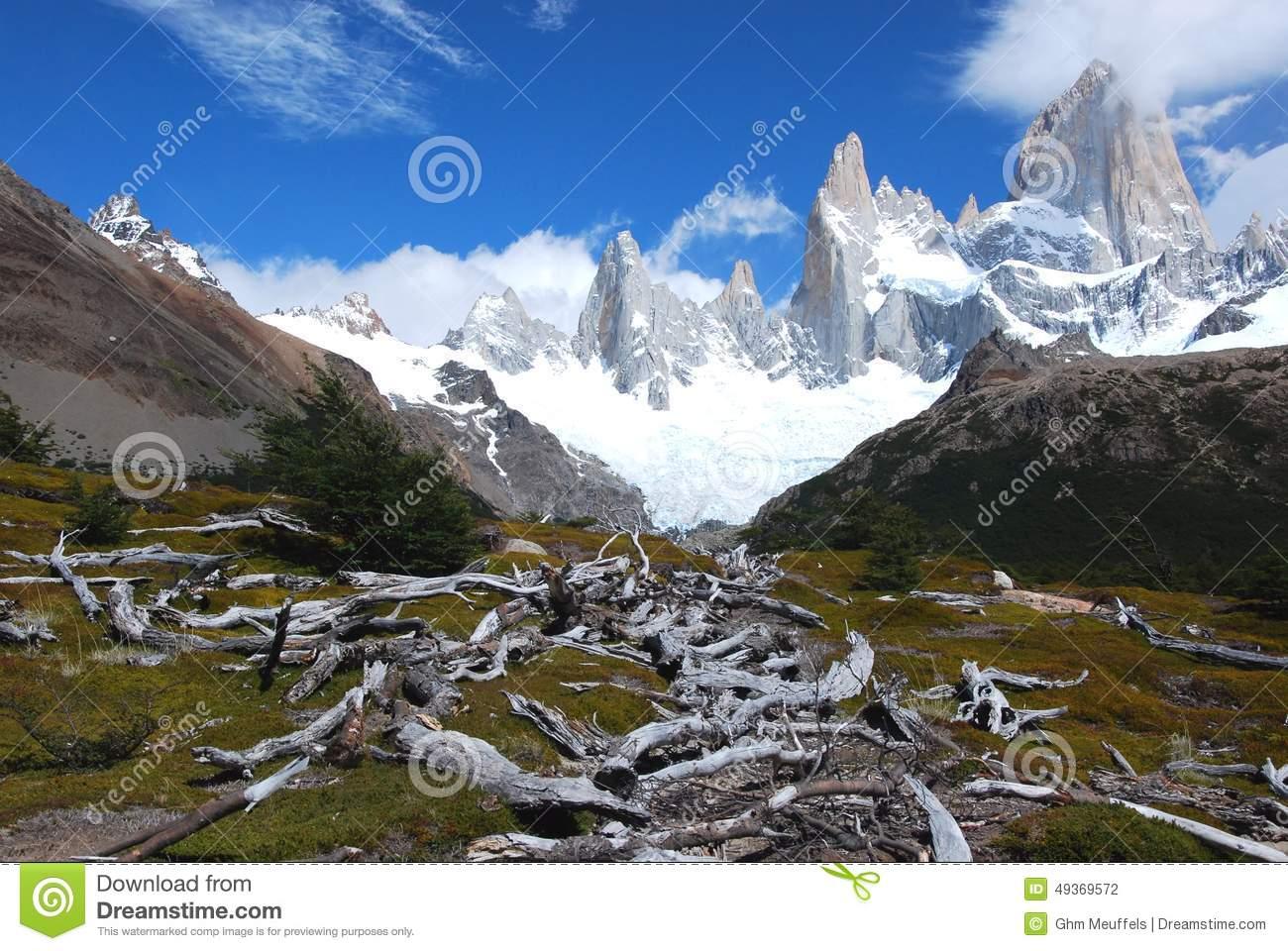 Mount Fitz Roy, Argentina Royalty Free Stock Image.