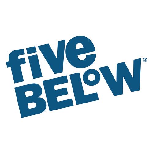 Five below Logos.