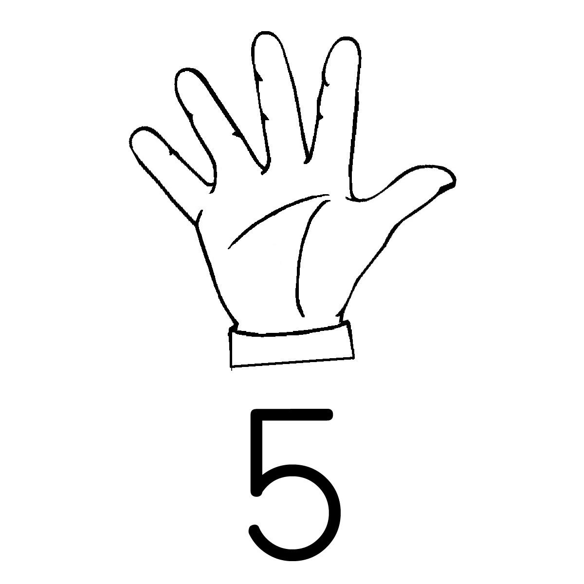 Five Clipart.