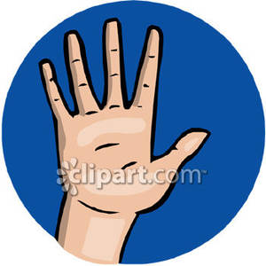 High Five Animated Clipart.