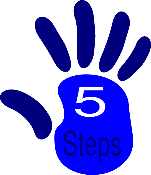 Group High Five Clipart.