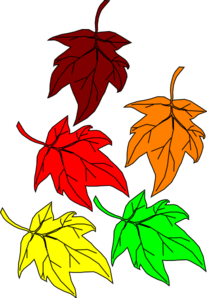 Falling Leaves Clip Art at Clker.com.