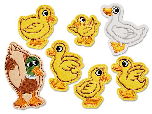 Five Little Ducks Storytelling Puppets.