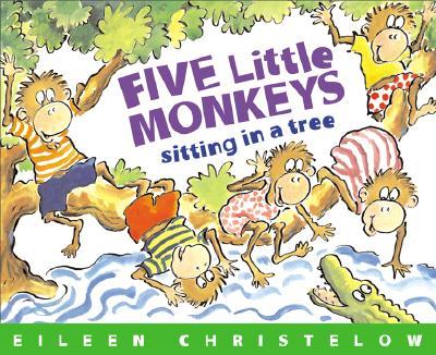 Five Little Monkeys Sitting in a Tree.