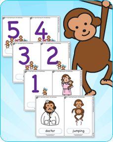 17 Best ideas about Five Little Monkeys on Pinterest.