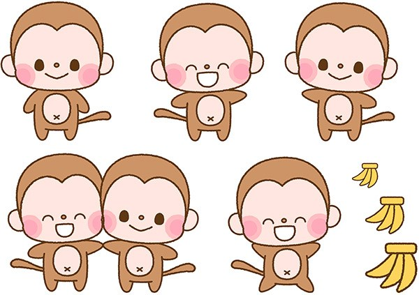 Five little monkeys clipart 8 » Clipart Portal.