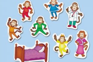 Five little monkeys clipart 2 » Clipart Portal.