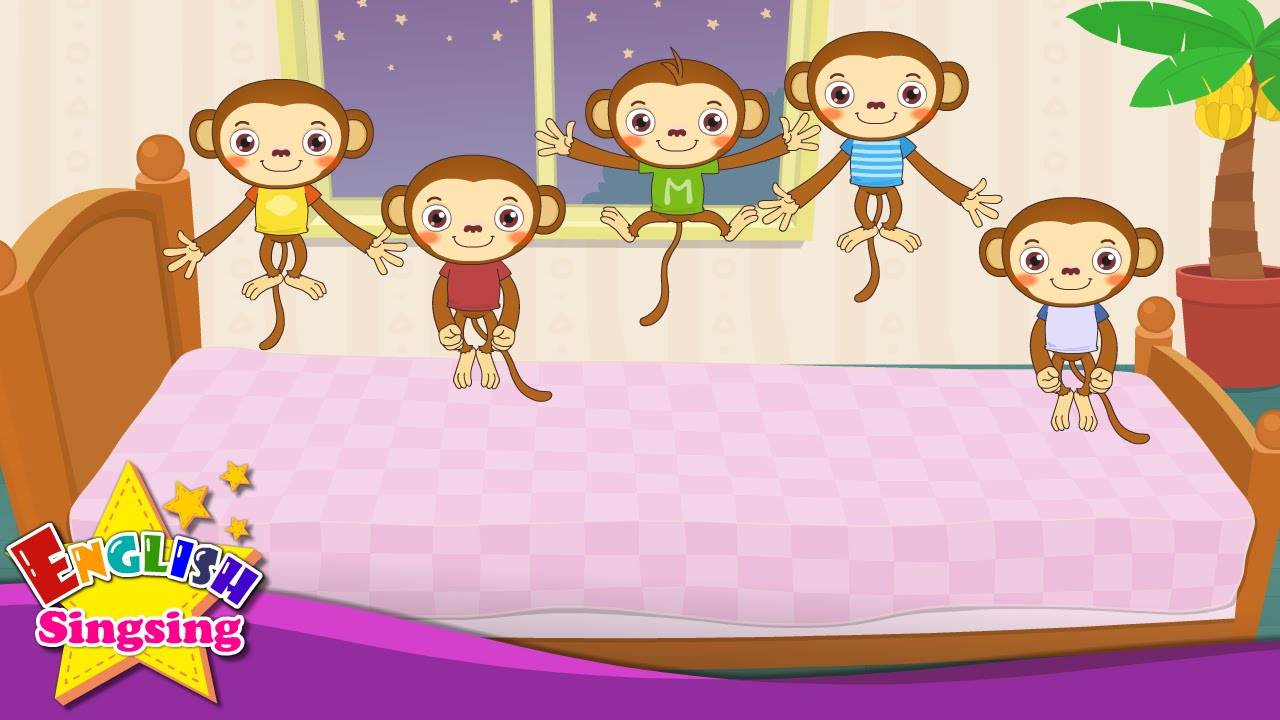 Five Little Monkeys Jumping on the Bed.