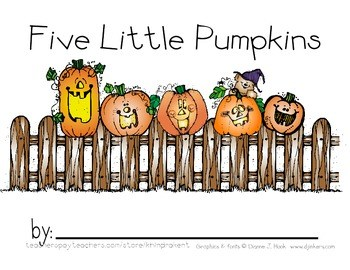 Five little pumpkins clipart 4 » Clipart Portal.