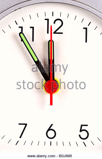 Five Minutes Before Twelve Stock Photos & Five Minutes Before.