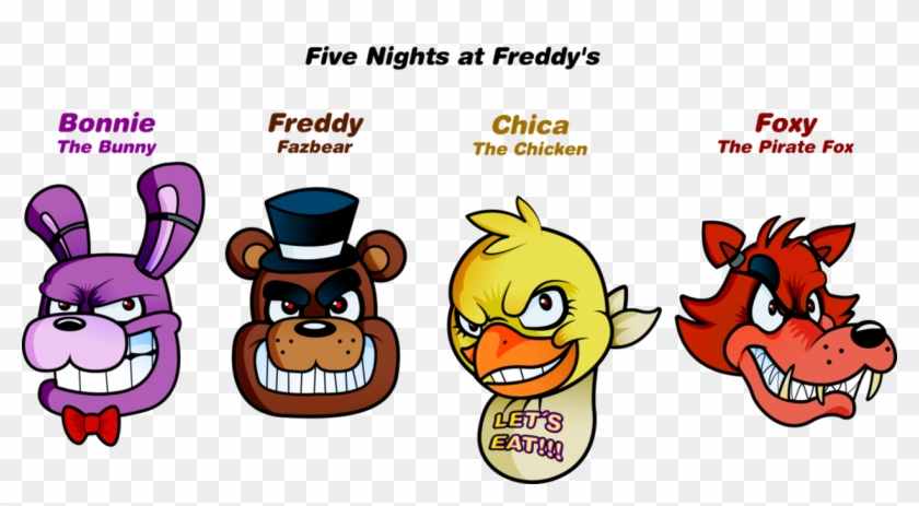 Five Nights At Freddy S Clipart With Image 817965 Five.