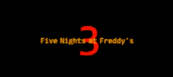 Five Nights at Freddy's 3.