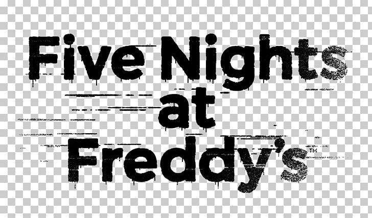 Five Nights At Freddy's Jump Scare Construction Set Logo Brand PNG.