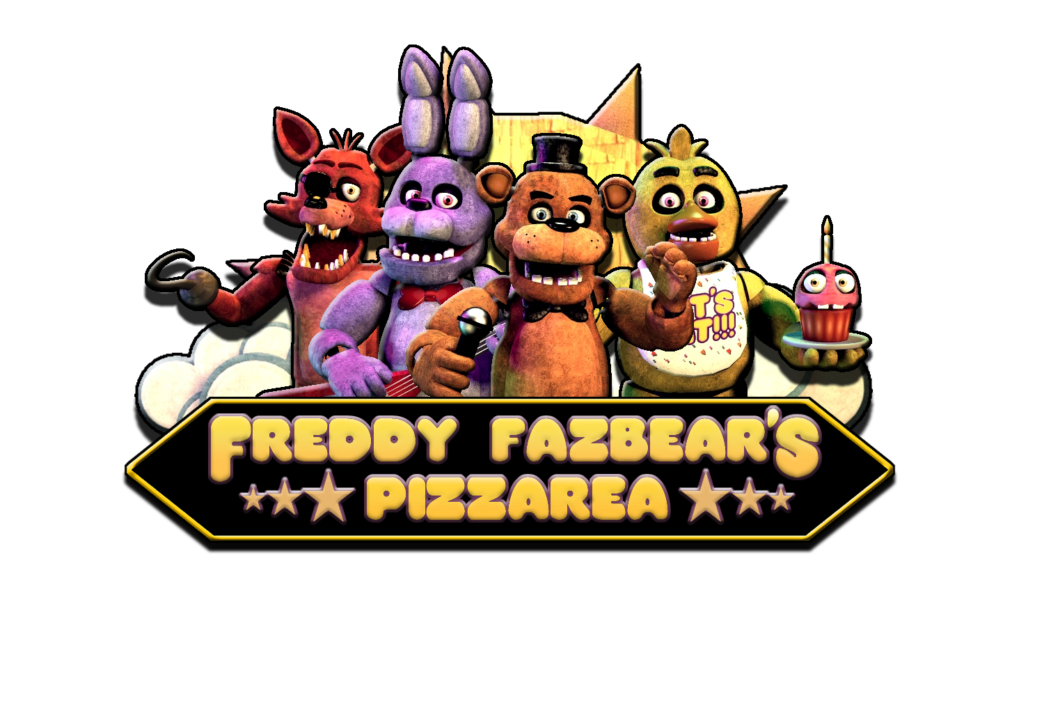 Five nights at freddys logo clipart images gallery for free download.