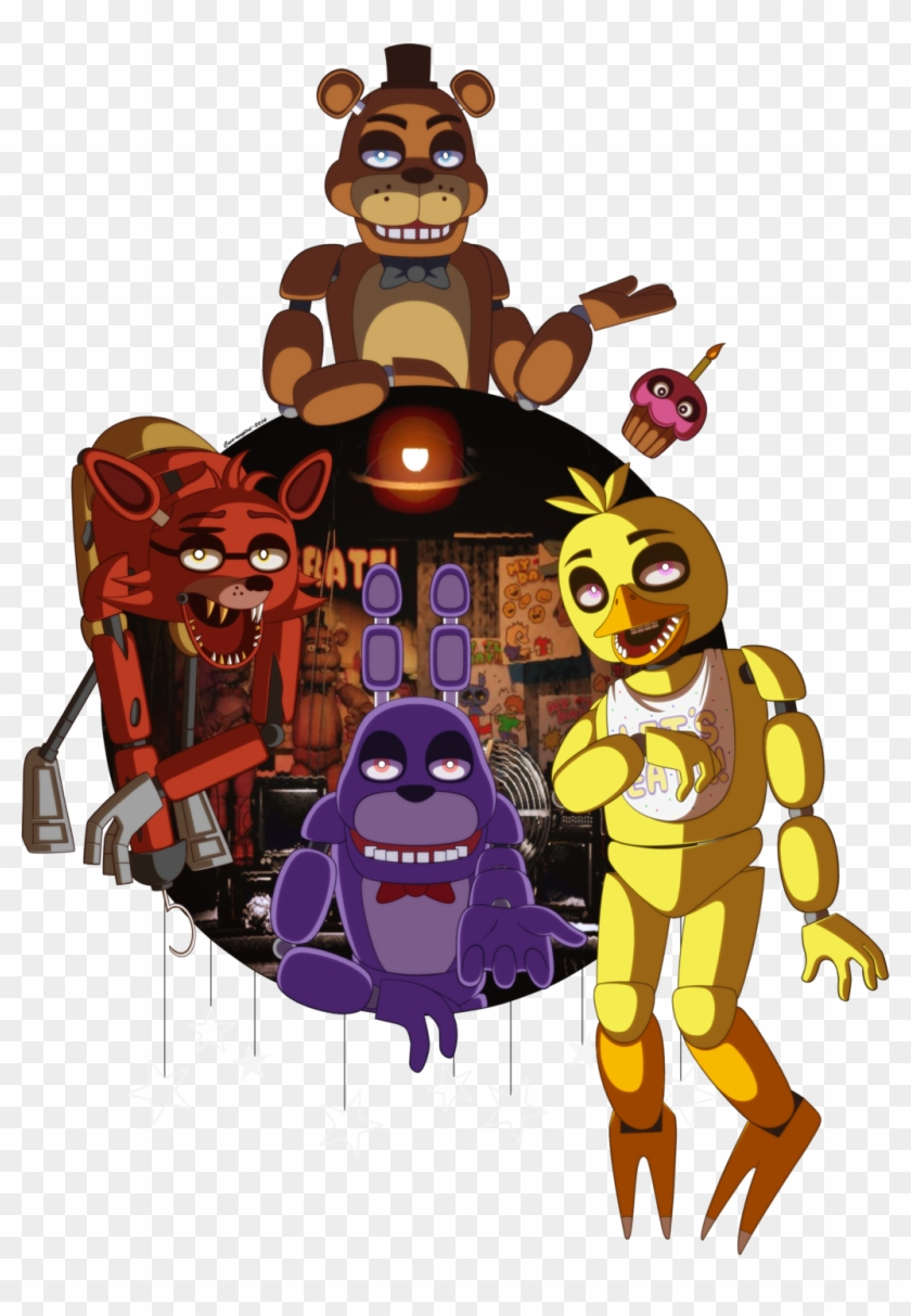Five Nights At Freddy's 2 Five Nights At Freddy's 3.