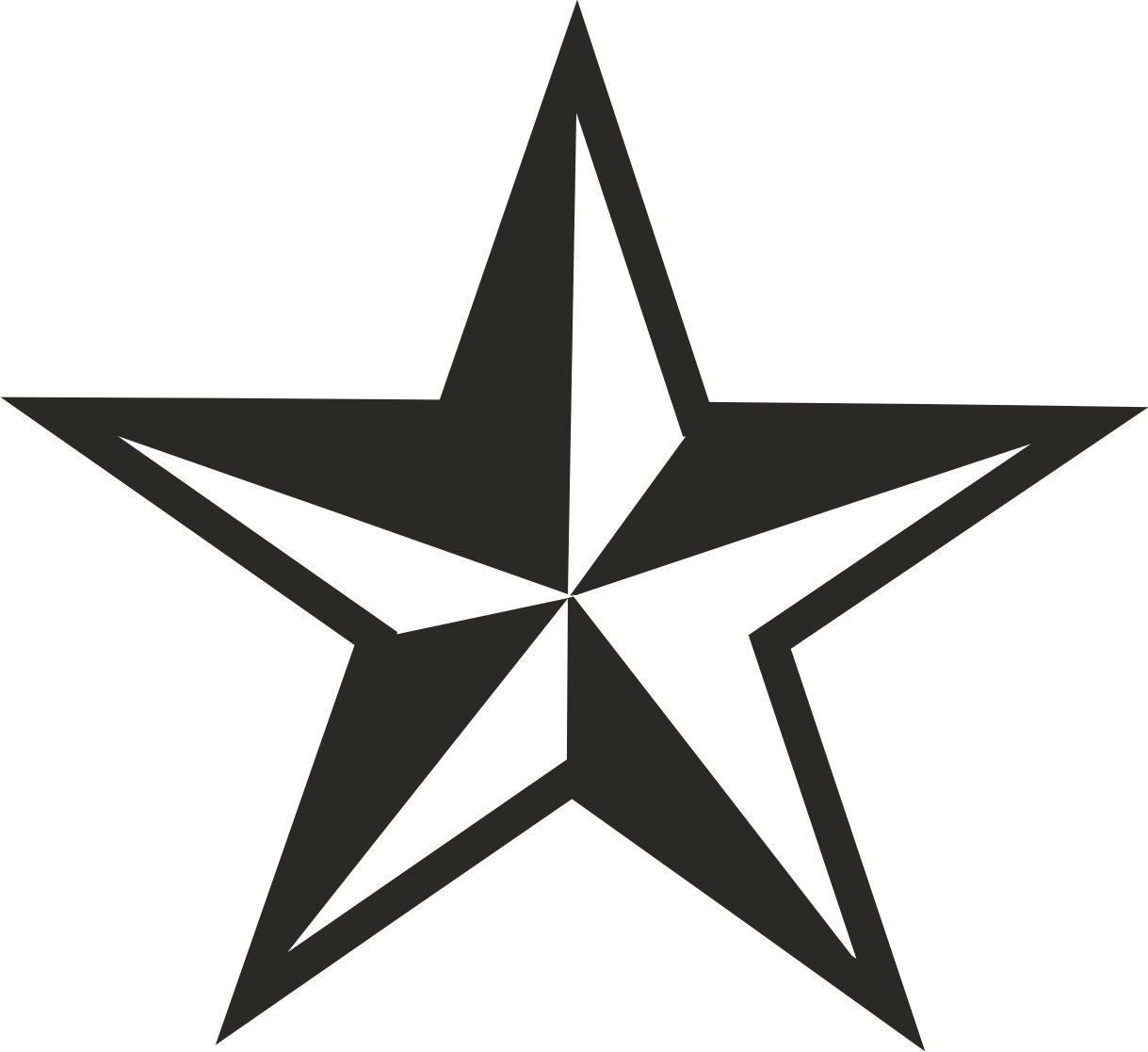 Five Point Star Clipart