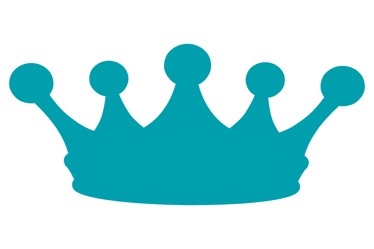 Point Crown Clipart.