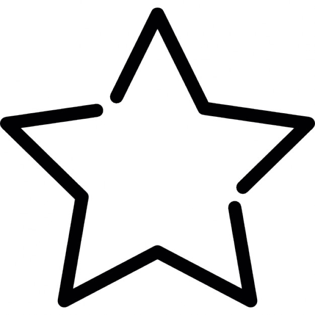 Five Pointed Star Vectors, Photos and PSD files.