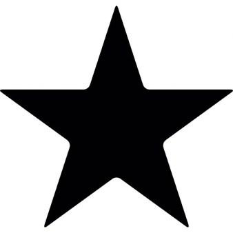 Five point star clipart » Clipart Portal.
