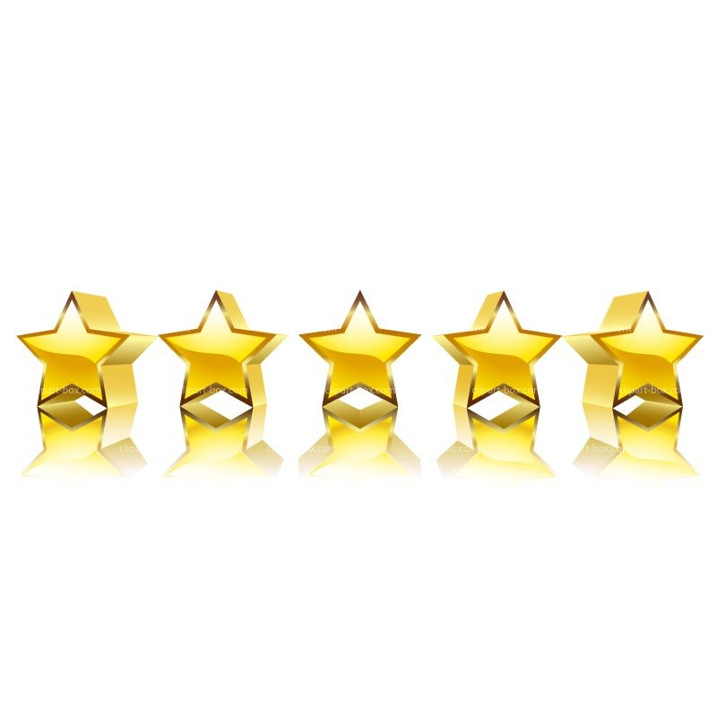Five star clipart 1 » Clipart Portal.