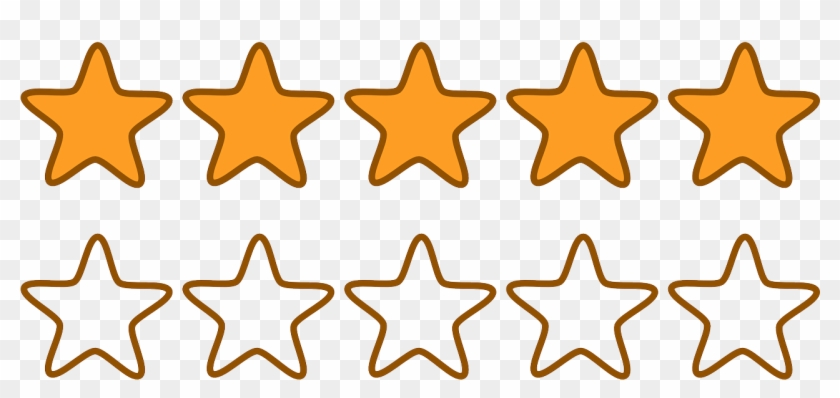 Freeuse Library 5 Stars Clipart.