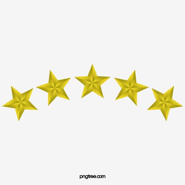 Metal Texture Five Star, Metal, Five Star, Golden PNG Transparent.