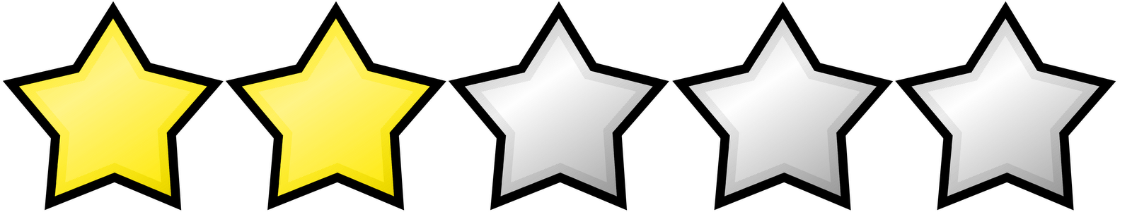 5 Star Images Clipart.