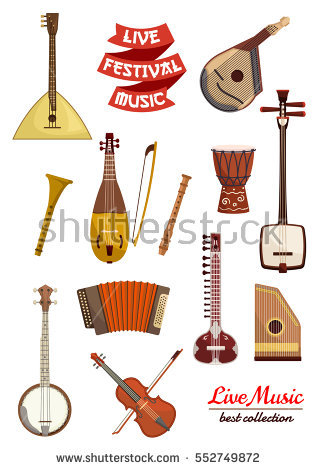 Banjo Stock Images, Royalty.