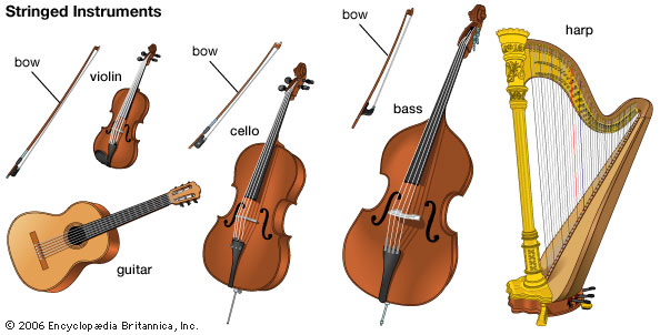 Stringed instruments clipart #3