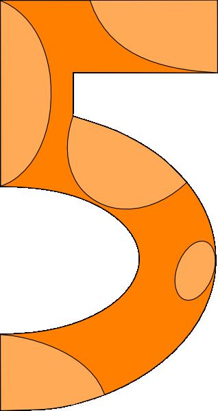 Giraffe Style Five Clip Art at Clker.com.