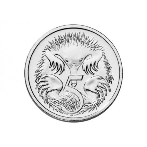 Australian 5 Cent Clipart.
