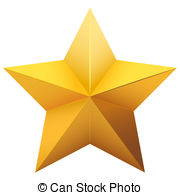 Five-pointed star clipart #13