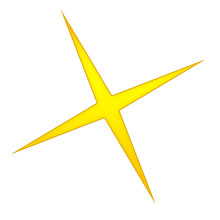 Five-pointed star clipart #11