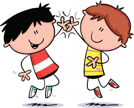 High five clipart images.
