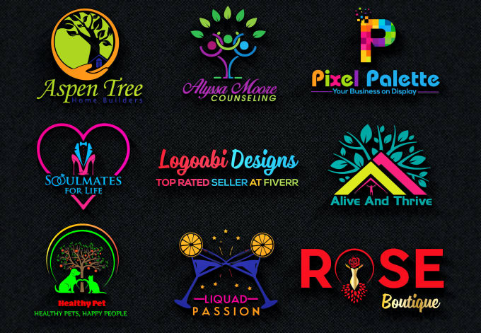 design professional brand logo for your business.