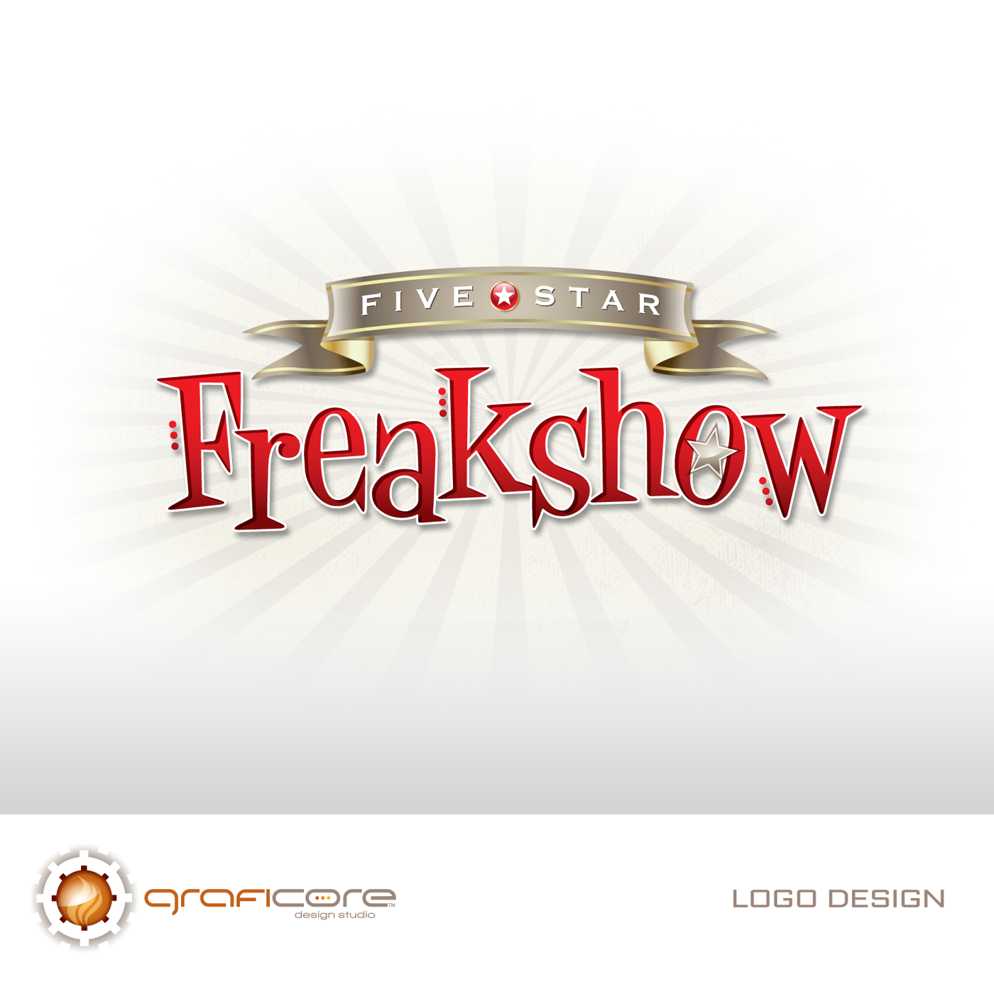 Five Star Freakshow / Logo by Jim Lodise at Coroflot.com.